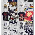 دانلود مجموعه طرح های وکتور آماده زیبا برای چاپ روی تی شرت
