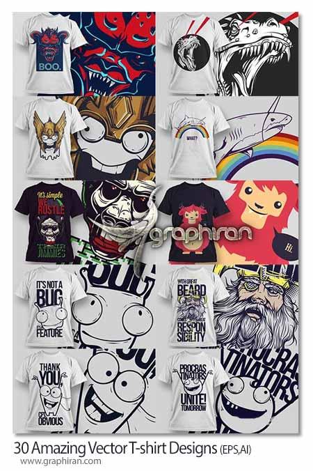 طرح برای چاپ روی تی شرت