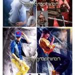 اکشن فتوشاپ ساخت فریم انتزاعی Abstract Frame Photoshop Action