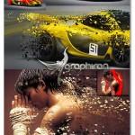 اکشن فتوشاپ انتشار ذرات عکس Dispersion Art Photoshop Action