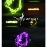 دانلود پروژه افتر افکت تشکیل لوگو از خطوط نور + فیلم آموزشی