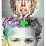 اکشن فتوشاپ ساخت نقاشی خلاقانه Photoshop Painting