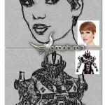 اکشن فتوشاپ تبدیل عکس به نقاشی خط خطی Doodle Art v2