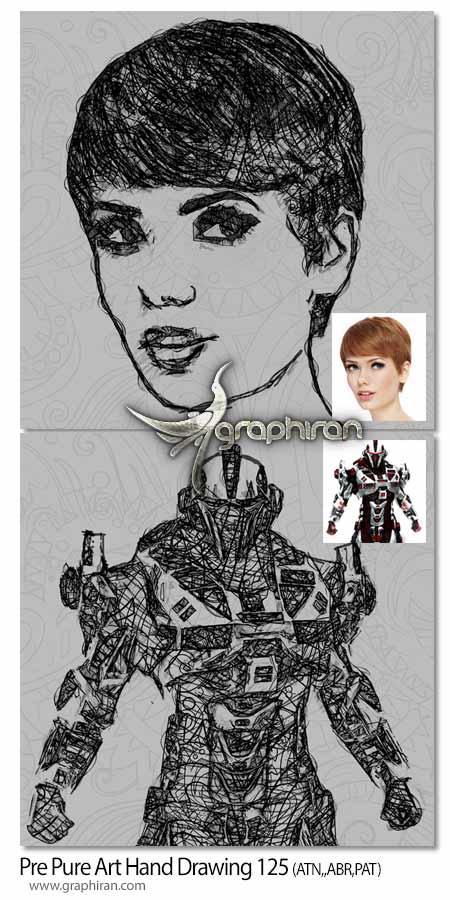 Pure Art Hand Drawing 125 – Doodle Art v2