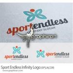 طرح وکتور لوگو و آرم باشگاه ورزشی Sport Endless Infinity Logo