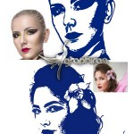 اکشن فتوشاپ ساخت اثر مهر و استامپ Stamp Photoshop Action