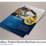 دانلود طرح لایه باز بروشور خدمات فنی و تعمیرات برای InDesign