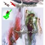 اکشن فتوشاپ افکت در هم شکستن Vanquish Photoshop Action