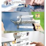 پروژه موشن گرافیک افترافکت گفتگو در برنامه های چت + فیلم آموزشی