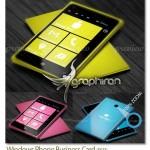 کارت ویزیت لایه باز طرح ویندوز فون Windows Phone Business Card