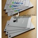 کارت ویزیت PSD لایه باز طرح گوشی آیفون سیستم iOS7 – شماره ۳۰۸