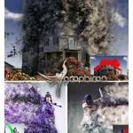 اکشن فتوشاپ تخریب و انفجار Destrukt Photoshop Action