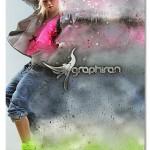 اکشن فتوشاپ افکت طوفان شن Dustum Photoshop Action