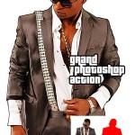 اکشن فتوشاپ افکت عکس بازی کامپیوتری Grand Photoshop Action
