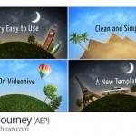دانلود پروژه آماده افتر افکت مسافرت و گردشگری Happy Journey