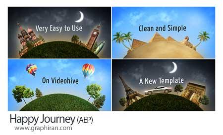 پروژه افتر افکت مسافرت و گردشگری