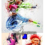 اکشن فتوشاپ تکنولوژی مدرن HighTech Vol.1 Photoshop Action