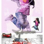 اکشن فتوشاپ افکت هنر ترکیب تصاویر MixArt Vol.1 Photoshop Action
