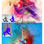 اکشن فتوشاپ اثر هنری مدرن Modern Art V6 Photoshop Action