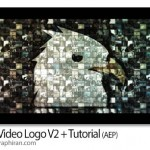 پروژه افتر افکت نمایش لوگو با فیلم های مختلف + فیلم آموزشی