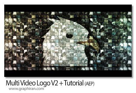 پروژه افتر افکت نمایش لوگو با فیلم های مختلف