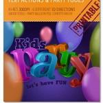 کیت ابزار گرافیکی برای طراحی با موضوع مهمانی Party Tools Kit