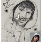 اکشن فتوشاپ بی نظیر ساخت نقاشی Pure Art Hand Drawing 98