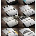 دانلود مجموعه ۲۰ کارت ویزیت فلت فرمت PSD فتوشاپ – شماره ۳۲۴