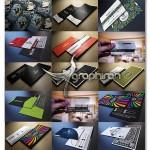 دانلود مجموعه ۵۰ کارت ویزیت حرفه ای PSD لایه باز – شماره ۳۲۳