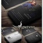 مجموعه نمونه کارت ویزیت های آماده با طراحی فلت – شماره ۳۲۲