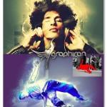 اکشن فتوشاپ ایجاد افکت درخشش زیبا Glow Photoshop Action