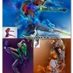 اکشن فتوشاپ افکت های رنگی خلاقانه Oblivion Photoshop Action