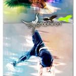 اکشن فتوشاپ رنگ های زیگزاگی Zigzag Colors Photoshop Action
