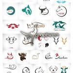 دانلود ۲۵ تصویر لوگو حیوانات فرمت وکتور EPS از ShutterStock