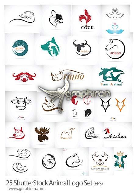 طرح لوگوی حیوانات
