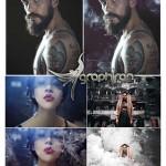 ۴۰ تصویر دود برای قرار دادن روی عکس Smoke Photoshop Overlays