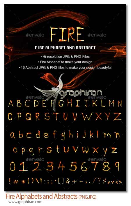 Fire Alphabets and Abstracts