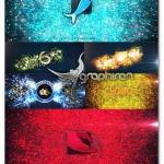 پروژه افتر افکت لوگو ذرات درخشان Glowing Particles Logo Reveal