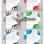 دانلود طرح های زیبای سربرگ اداری آماده PSD لایه باز