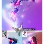 اکشن فتوشاپ افکت های درخشان Luminiferous Photoshop Action