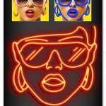 اکشن فتوشاپ ساخت نقاشی نئون Neon Drawing Actions
