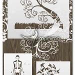 اکشن فتوشاپ هنر برش کاغذ Paper Cut Art Photoshop Actions