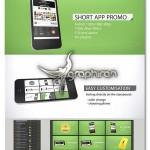 پروژه کاربردی افتر افکت تبلیغ اپلیکیشن موبایل Short App Promo