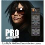StyleMyPic Pro Workflow پلاگین و اکشن قدرتمند فتوشاپ روتوش عکس