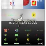 پک بی نظیر پروژه افتر افکت ۱۶ نوع نمایش لوگو Wow Logo Pack