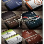 دانلود پک ۶ کارت ویزیت جدید PSD لایه باز – شماره ۳۲۶