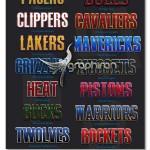 ۴۷ استایل فتوشاپ تیم های بسکتبال NBA Basketball Style Pack