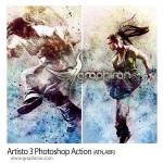 اکشن فتوشاپ افکت رنگ های هنری Artisto 3 Photoshop Action