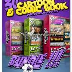 ۳۰ استایل کارتونی فتوشاپ Cartoon & Comic Book Photoshop Style