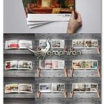 دانلود فایل لایه باز بروشور و کاتالوگ ۴۰ صفحه ای سایز A4